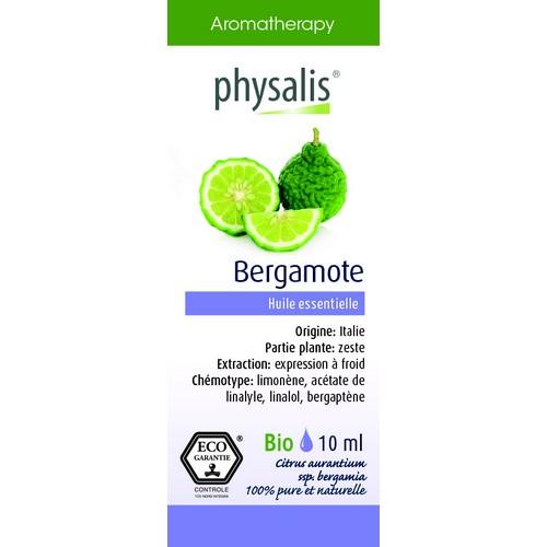 Physalis Bio HE Bergamote 10ml