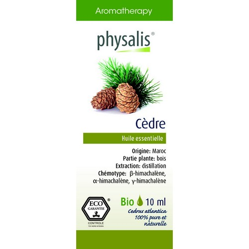 Physalis Bio HE Cèdre 10ml