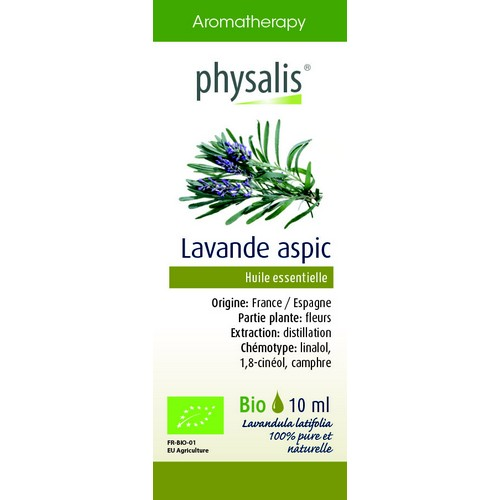 Physalis Bio HE Lavande Aspic 10ml