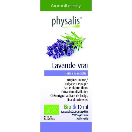 Physalis Bio HE Lavande vraie 10ml
