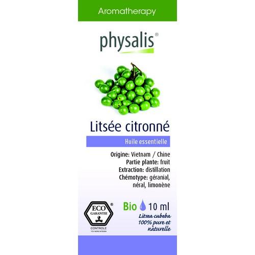 Physalis Bio HE Litsée citronné10ml