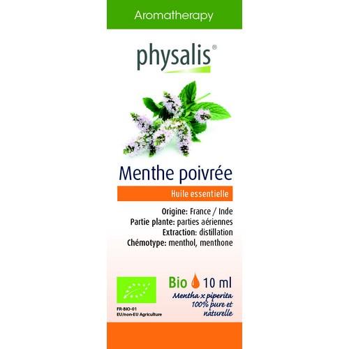 Physalis Bio HE Menthe poivrée10ml