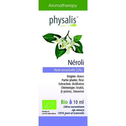 Physalis Bio HE Néroli 5% 10ml