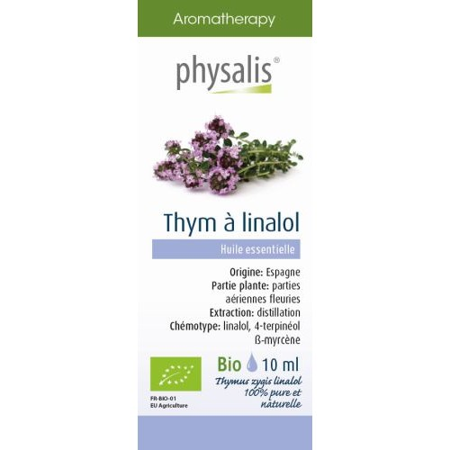 PH Bio HE Thym linalol (jaune) 10ml