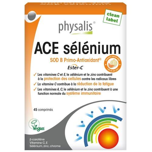 Physalis ACE sélénium 45comp