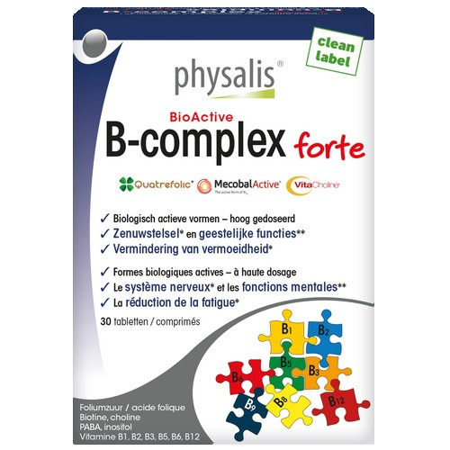 Physalis B-Complex forte 30comp