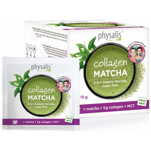 Collagen Matcha beauty drink 12x10g