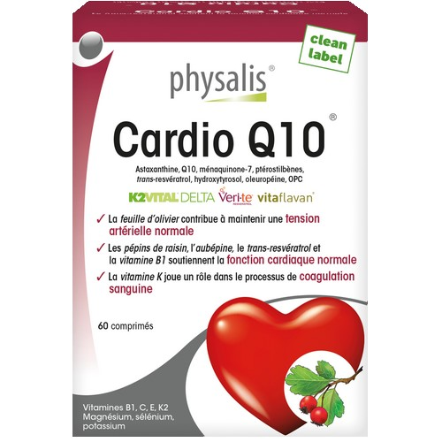 Physalis Cardio Q10 60comp