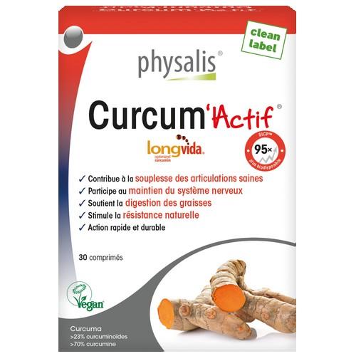 Physalis Curcum Actif 30 comp.