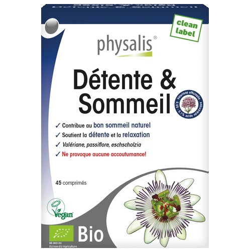 Physalis BIO Détente&Somm. 45comp