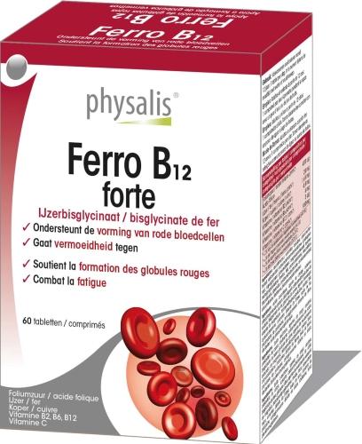 Physalis Ferro B12 forte 60comp.