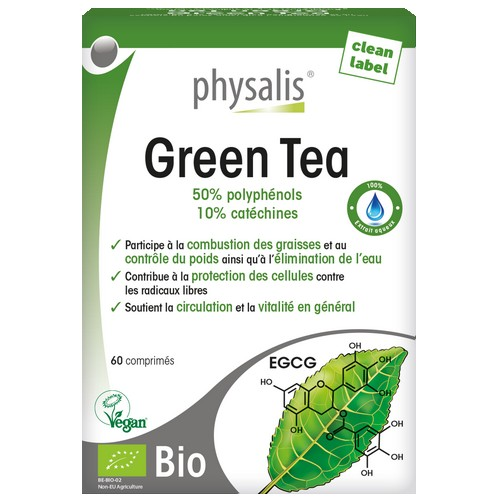 Physalis Bio Green Tea 60 comp.