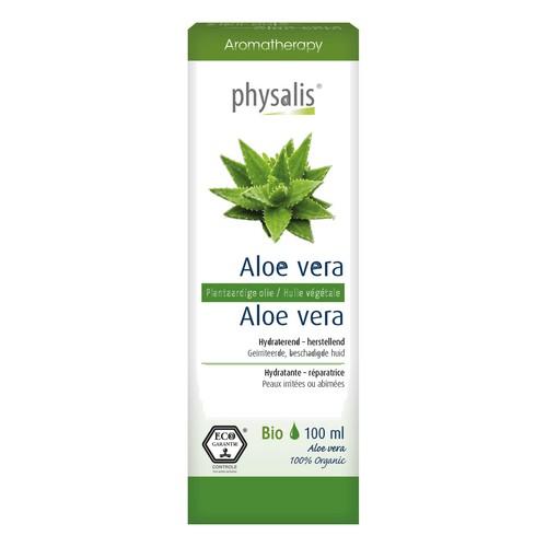 Huile végétale Aloe vera Bio 100ml