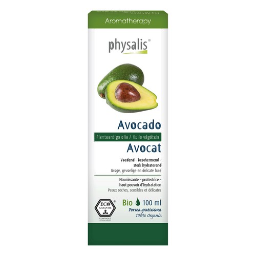 Huile végétale Avocado Bio 100ml