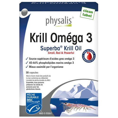 Physalis Krill Omega3 30caps