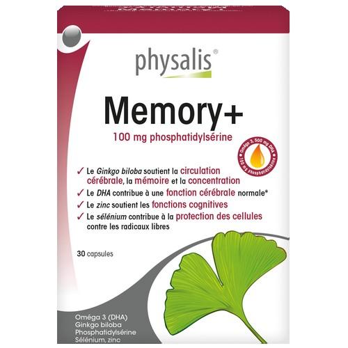 Physalis Memory+ 30caps molles