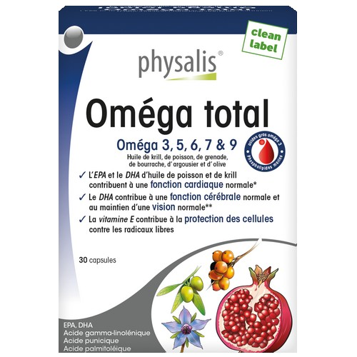 Physalis Omega Total 30caps