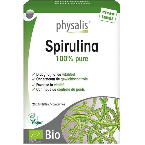 Physalis Bio Spirulina 200 comp.