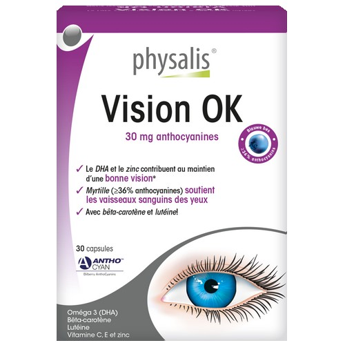 Physalis Vision OK 30caps molles