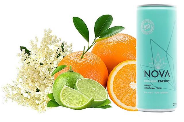 Organic Energy Orange Elderflw 25cl