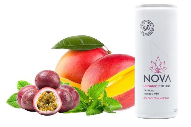 Organic Energy Passion Mango 25cl