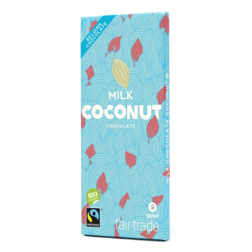 Bio chocolat lait kokos 100g