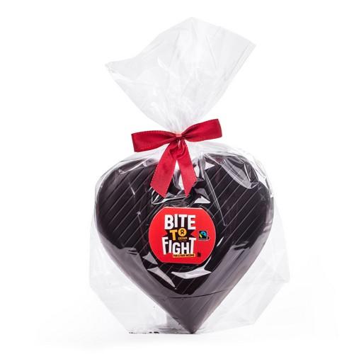 Coeur au chocolat noir 75g