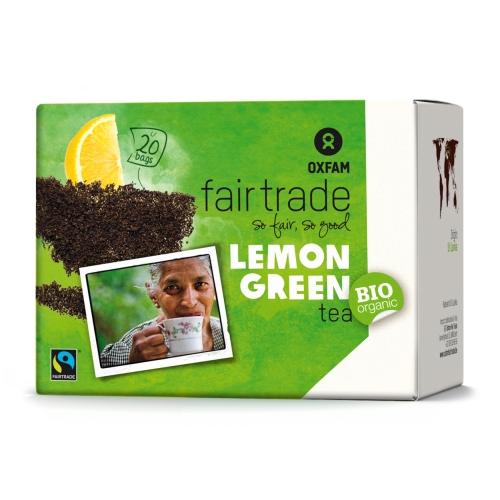 Thé vert au citron BIO 20x1,8g