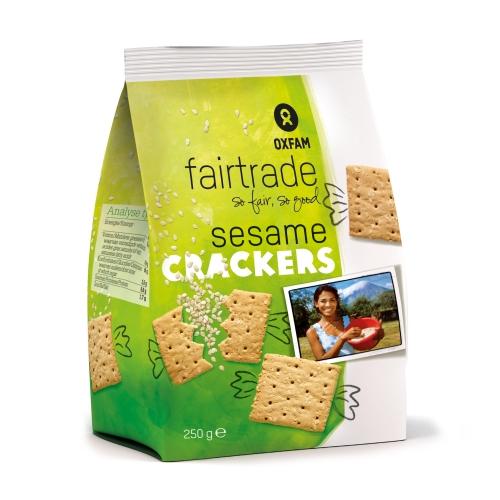 Crackers au sésame 250g