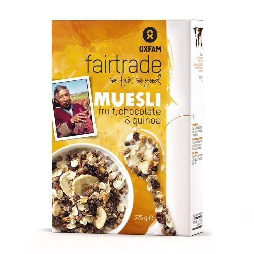 Muesli fruit, choco, quinoa 375g