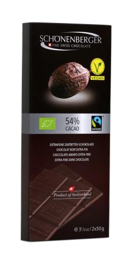 Bio Zartbitter 54% 2x50g VEGAN