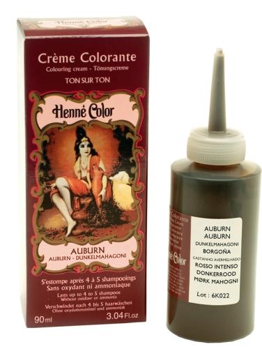 Henné crème colorante Auburn 90ml
