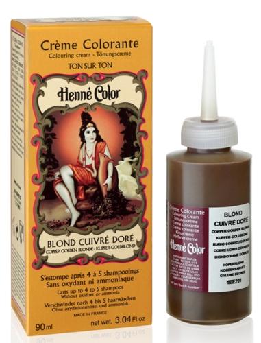 Henné crème Blond cuivré doré 90ml