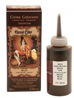 Henné crème colorante Brun 90ml