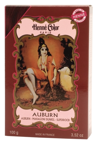 Hénné poudre Auburn 100g