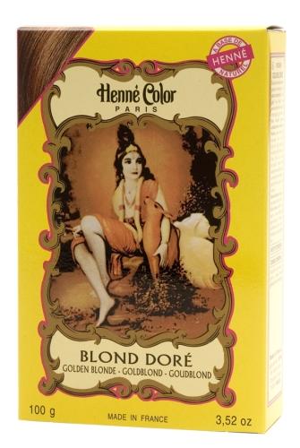 Hénné poudre Blond doré 100g
