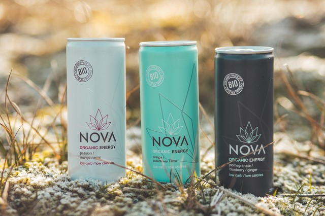 Terra roxa sàrl : Nova organic energy drink